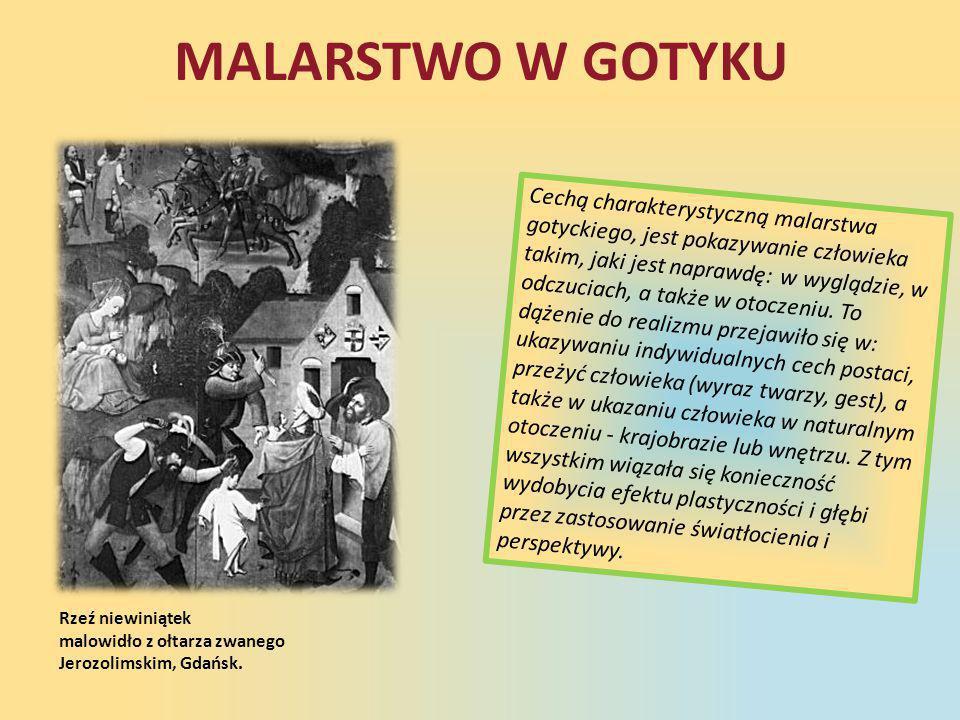 MALARSTWO W GOTYKU