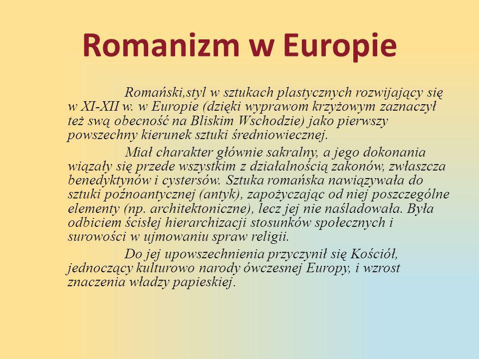 Romanizm w Europie