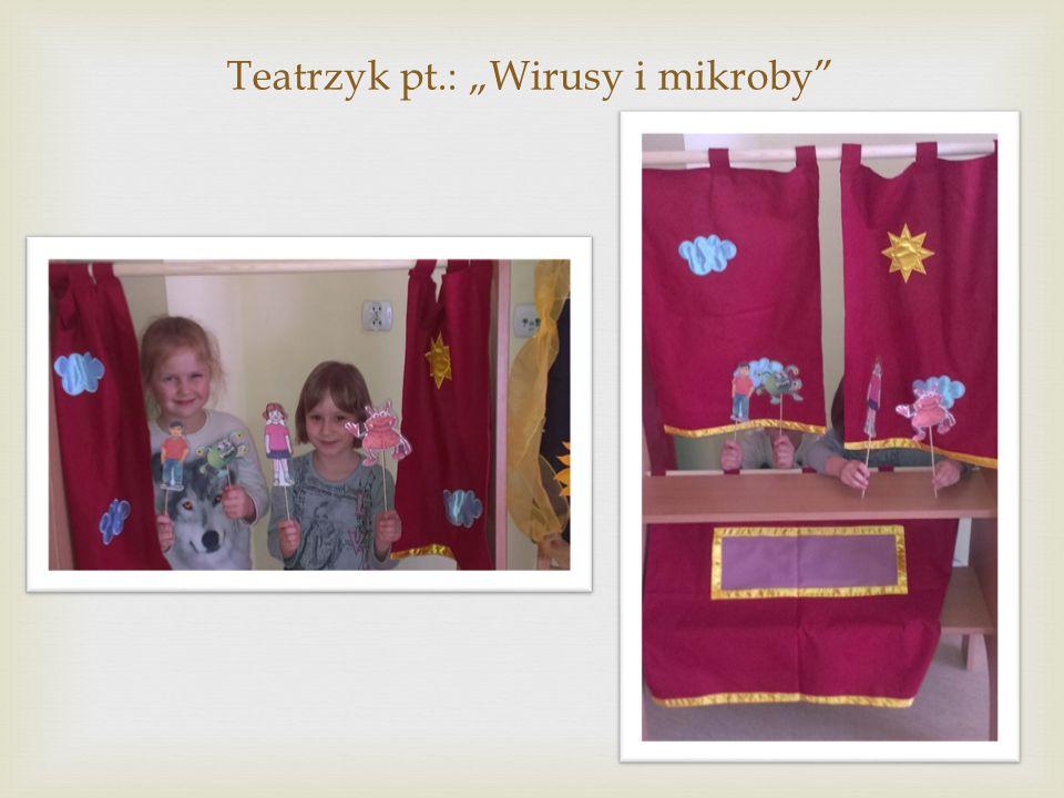 """Teatrzyk pt.: """"Wirusy i mikroby"""