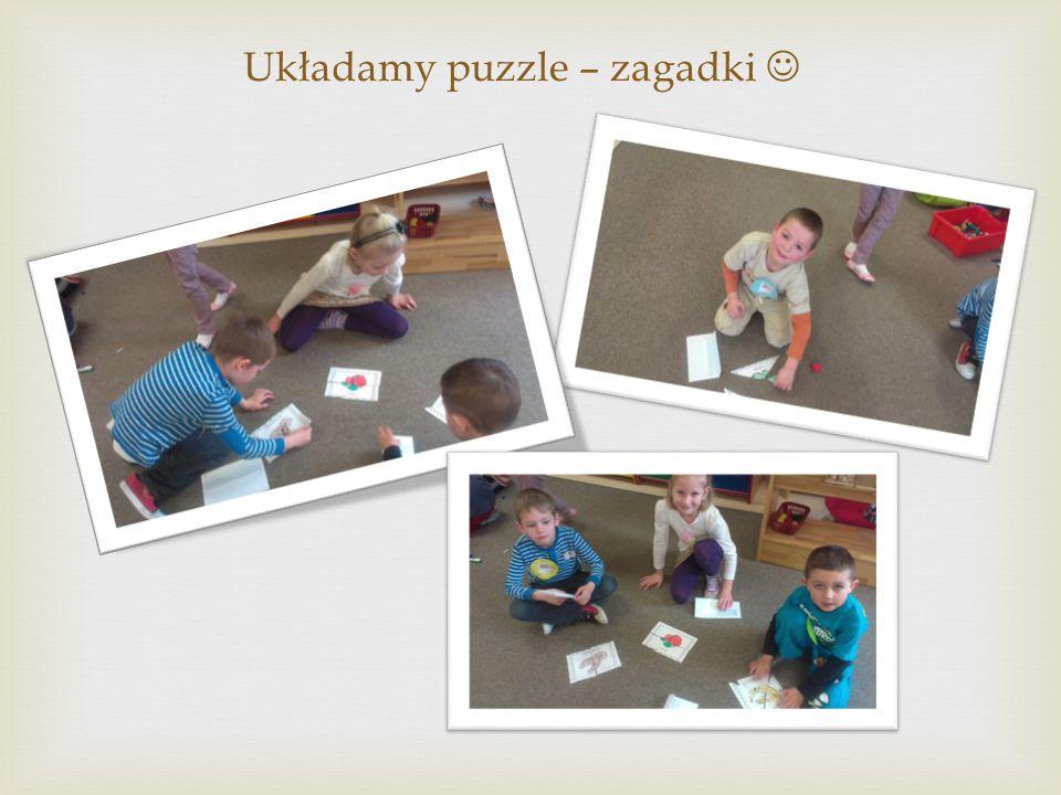 Układamy puzzle – zagadki 