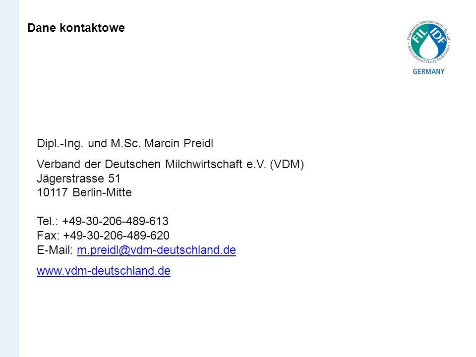 Dane kontaktoweDipl.-Ing. und M.Sc. Marcin Preidl.