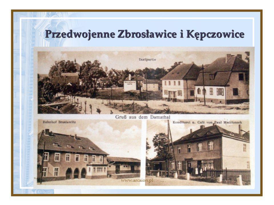 Przedwojenne Zbrosławice i Kępczowice