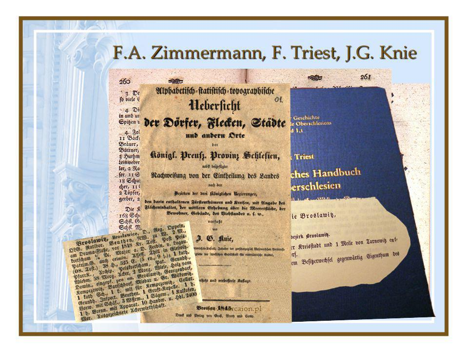 F.A. Zimmermann, F. Triest, J.G. Knie