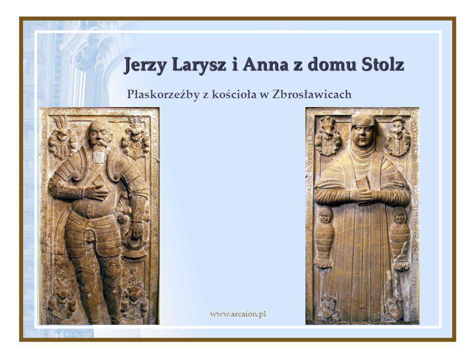 Jerzy Larysz i Anna z domu Stolz