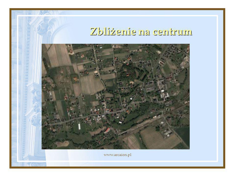 Zbliżenie na centrum www.arcaion.pl