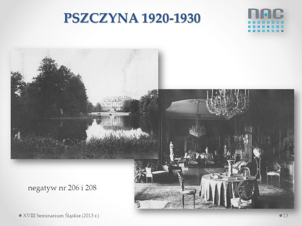 PSZCZYNA 1920-1930