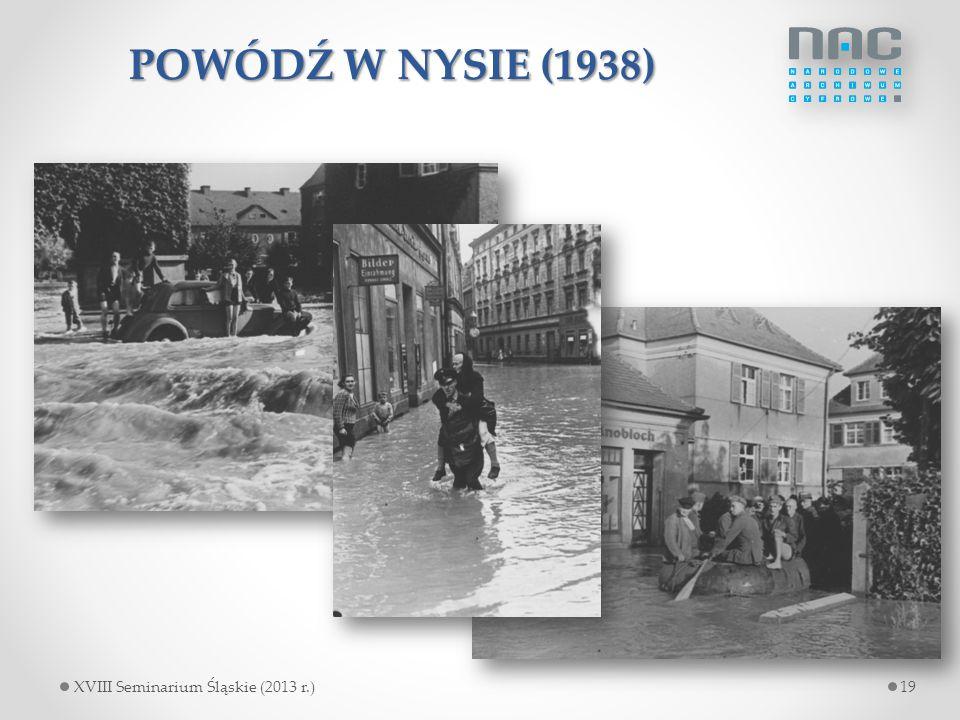 POWÓDŹ W NYSIE (1938) czy powódź w Nysie w 1938 r.