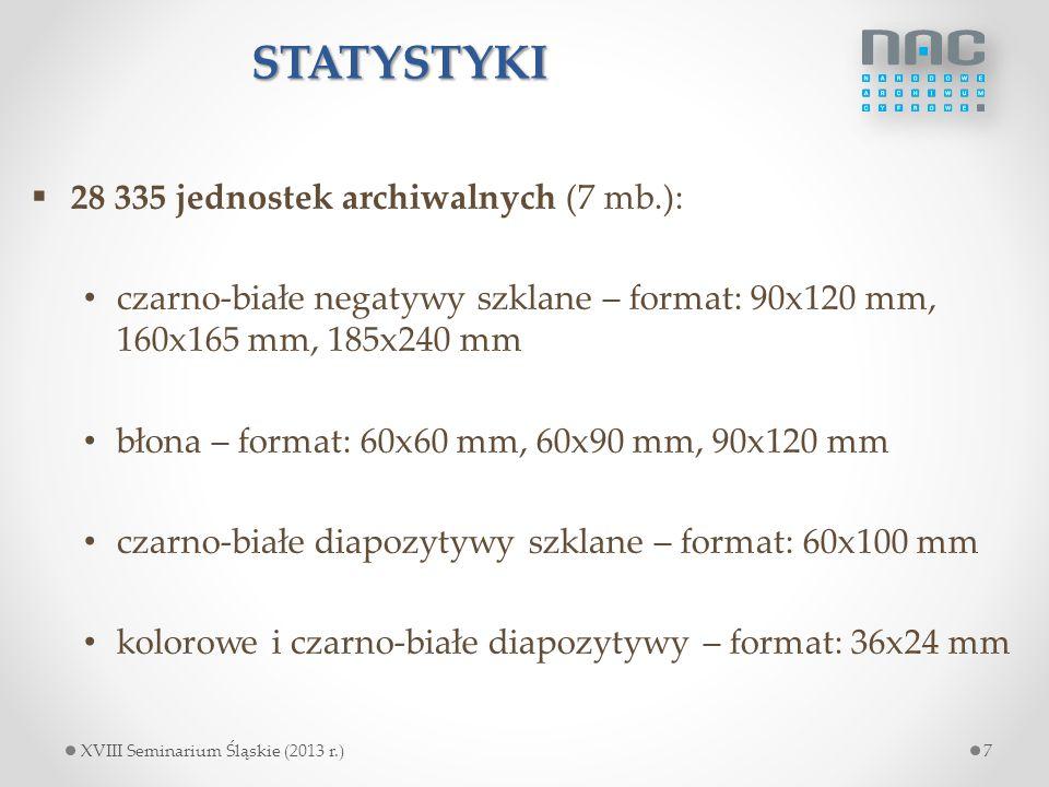 STATYSTYKI 28 335 jednostek archiwalnych (7 mb.):