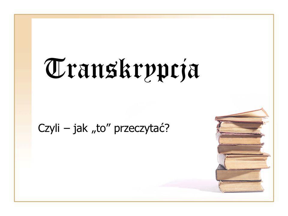 """Czyli – jak """"to przeczytać"""