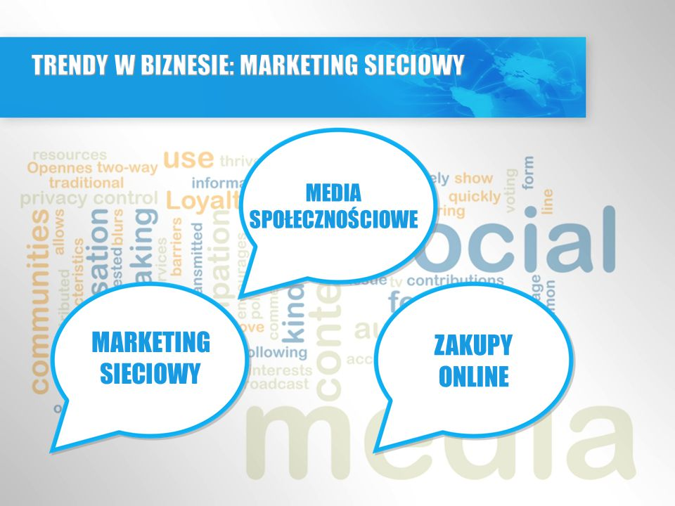 TRENDY W BIZNESIE: MARKETING SIECIOWY