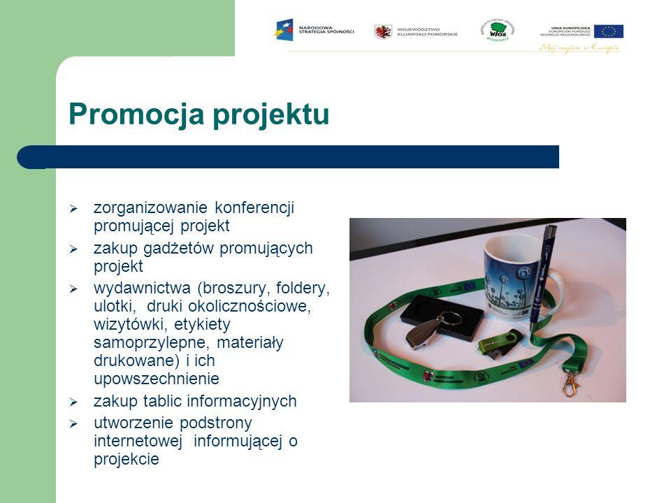 Promocja projektu zorganizowanie konferencji promującej projekt