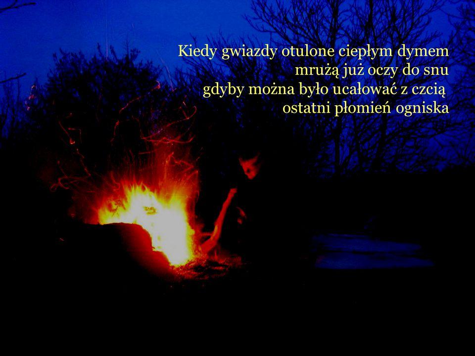 Kiedy gwiazdy otulone ciepłym dymem