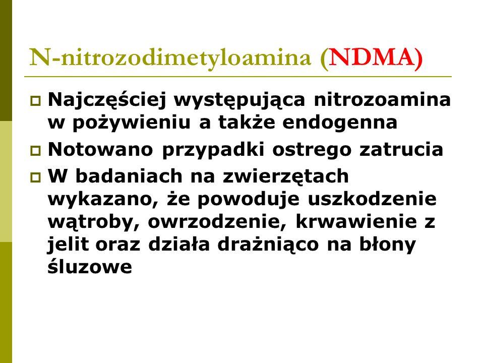 N-nitrozodimetyloamina (NDMA)