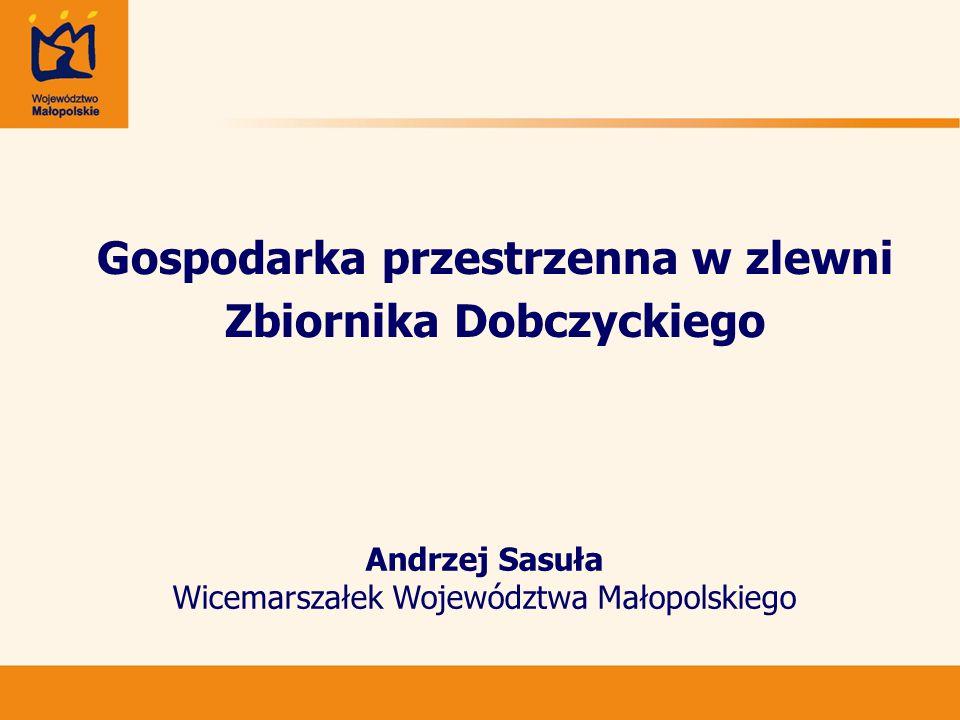 Gospodarka przestrzenna w zlewni Zbiornika Dobczyckiego