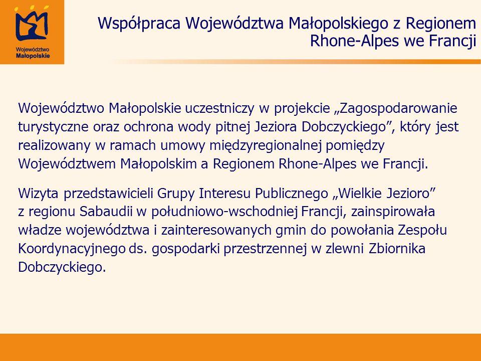 Współpraca Województwa Małopolskiego z Regionem Rhone-Alpes we Francji