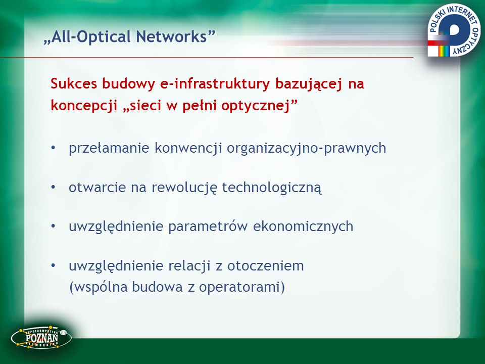 """All-Optical Networks"