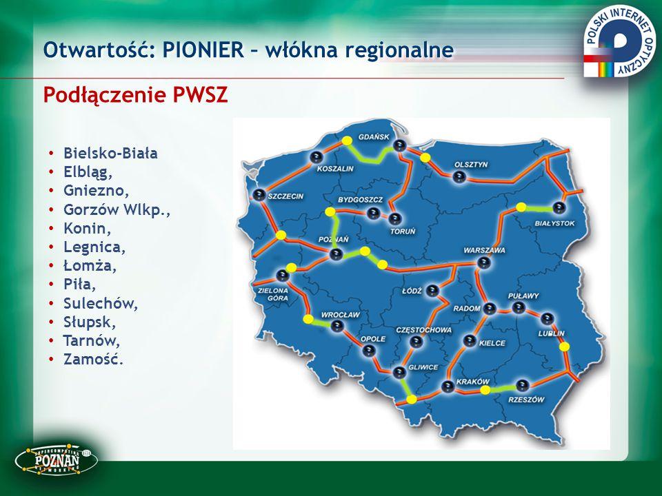 Otwartość: PIONIER – włókna regionalne