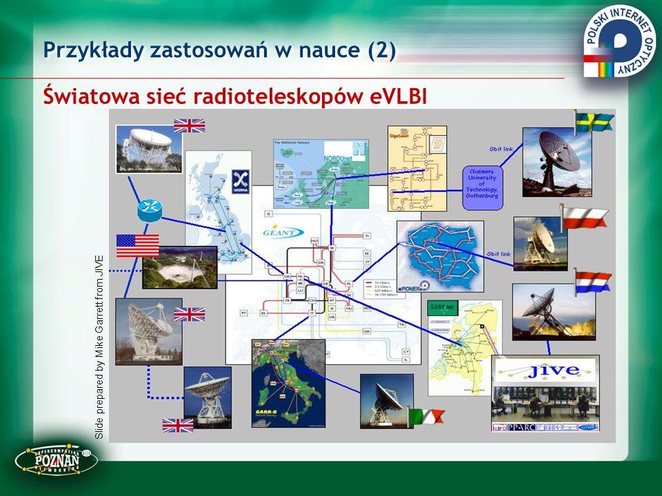 Światowa sieć radioteleskopów eVLBI