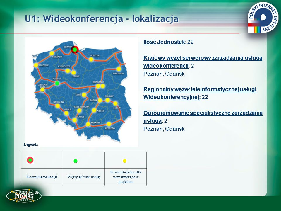 U1: Wideokonferencja - lokalizacja