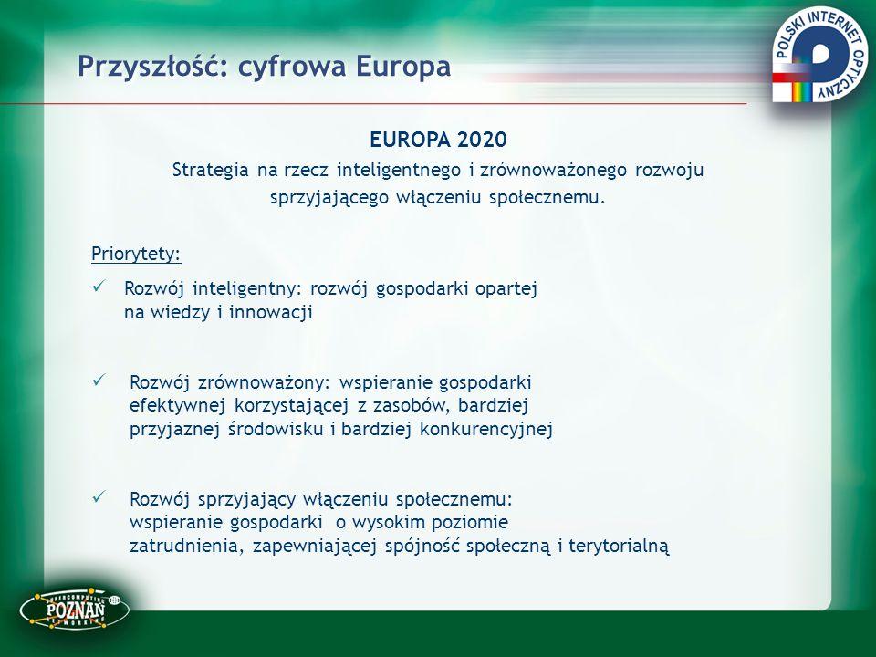 Przyszłość: cyfrowa Europa