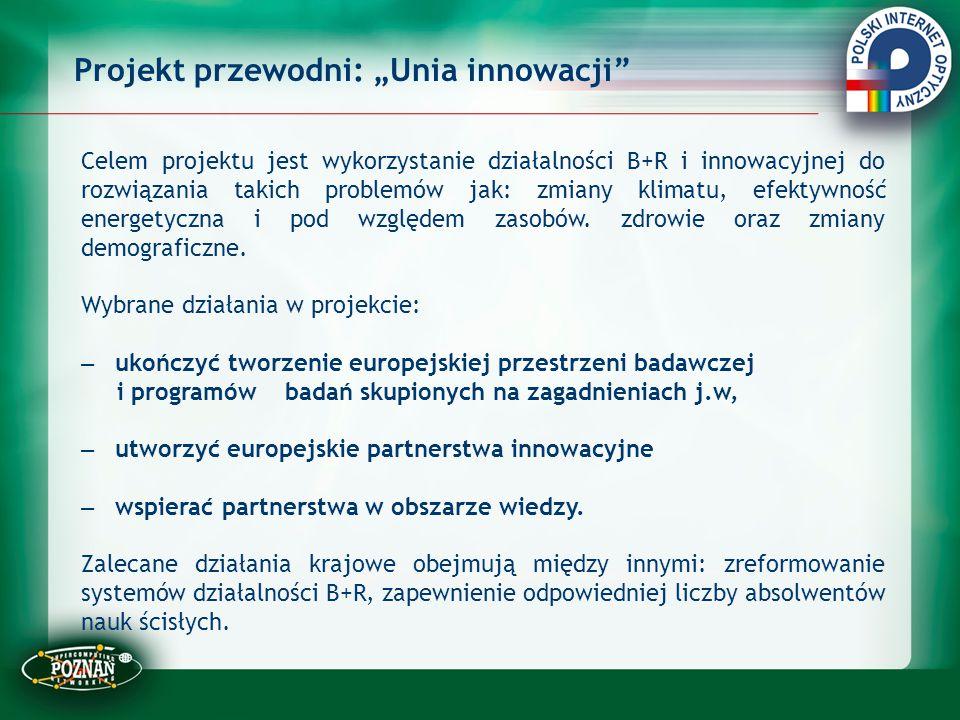"""Projekt przewodni: """"Unia innowacji"""