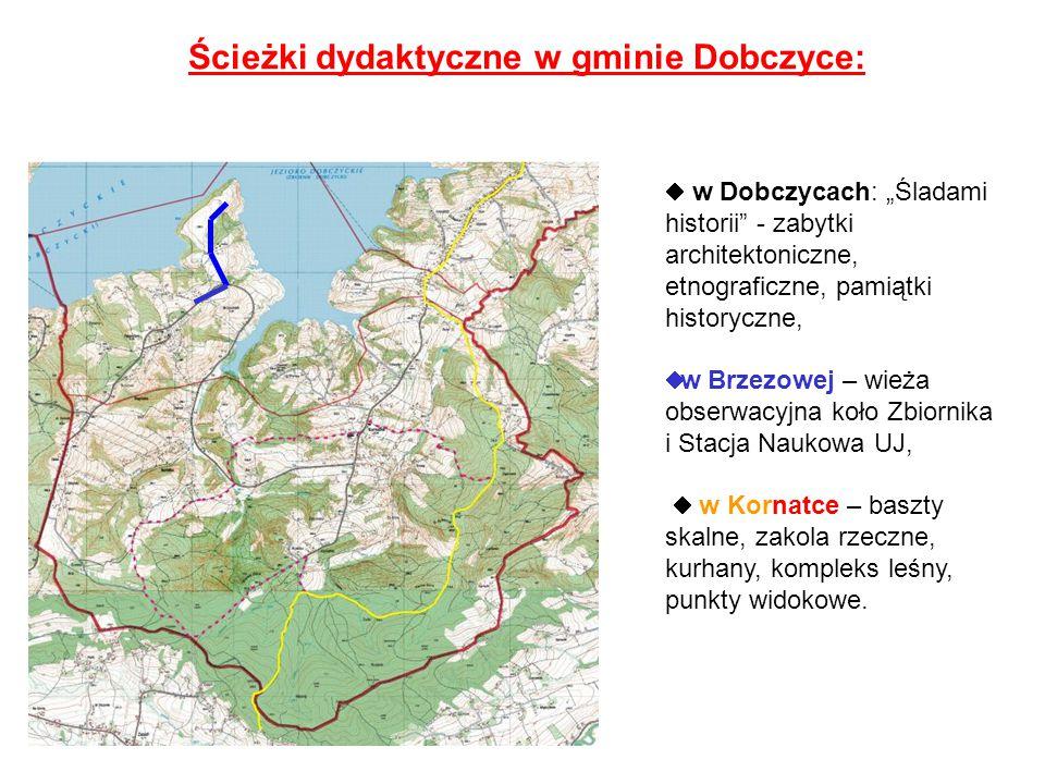 Ścieżki dydaktyczne w gminie Dobczyce: