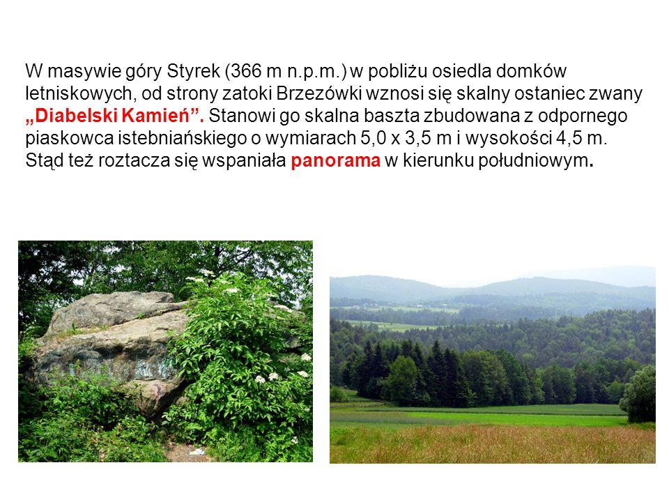 W masywie góry Styrek (366 m n. p. m