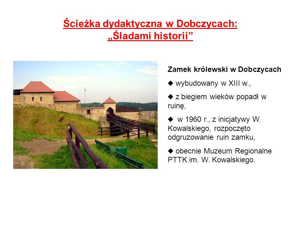 Ścieżka dydaktyczna w Dobczycach: