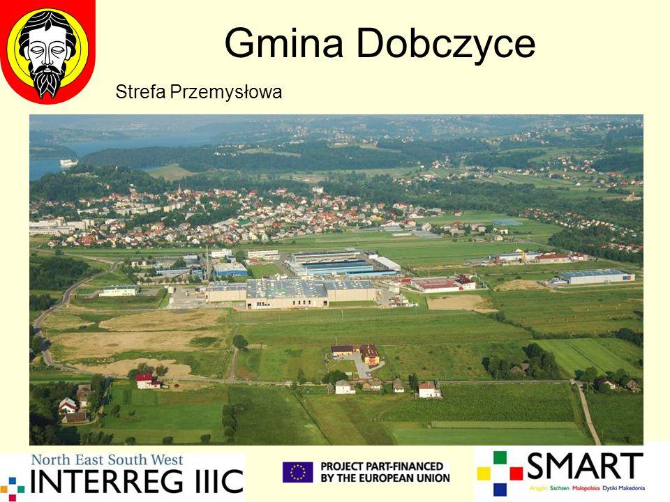 Gmina Dobczyce Strefa Przemysłowa