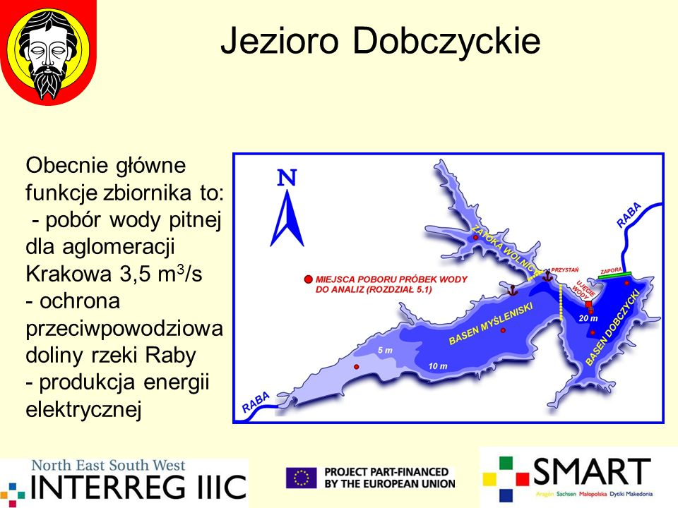 Jezioro Dobczyckie Obecnie główne funkcje zbiornika to: