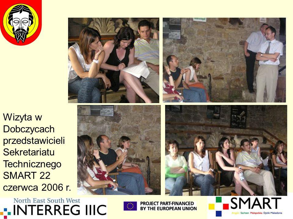 Wizyta w Dobczycach przedstawicieli Sekretariatu Technicznego SMART 22 czerwca 2006 r.