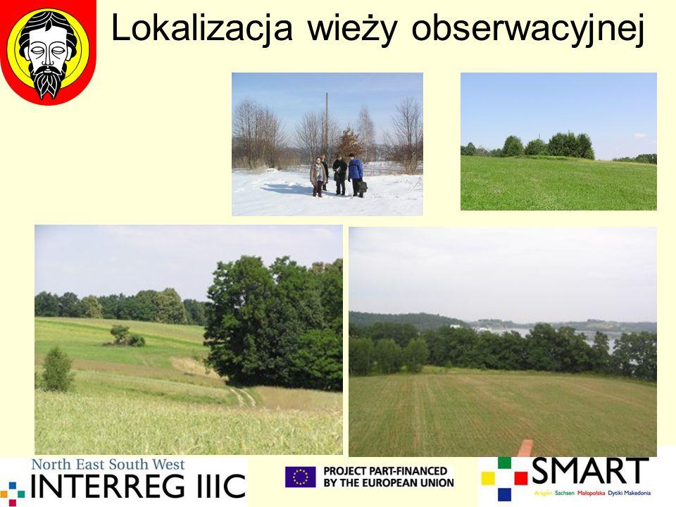 Lokalizacja wieży obserwacyjnej
