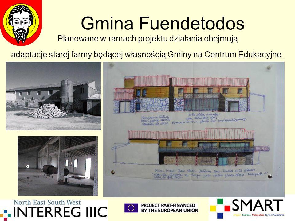 Gmina Fuendetodos Planowane w ramach projektu działania obejmują
