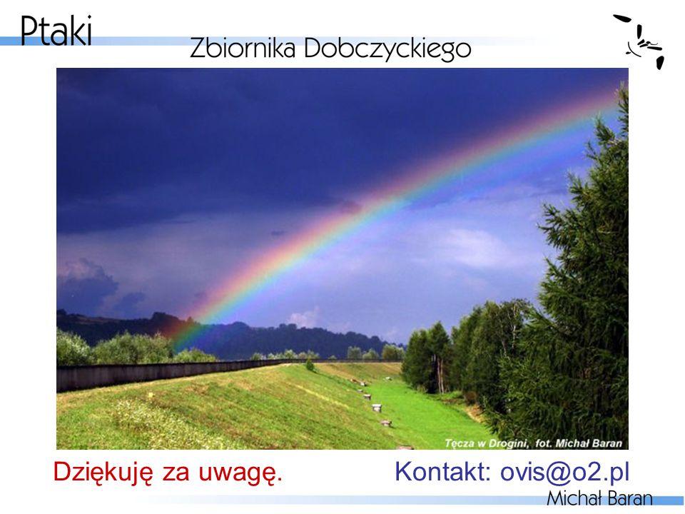 Dziękuję za uwagę. Kontakt: ovis@o2.pl