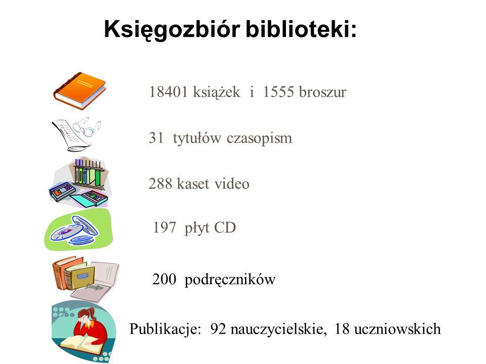Księgozbiór biblioteki: