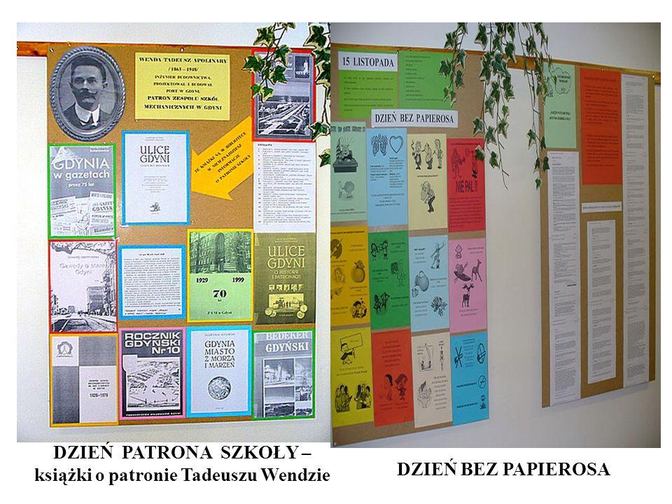 DZIEŃ PATRONA SZKOŁY – książki o patronie Tadeuszu Wendzie