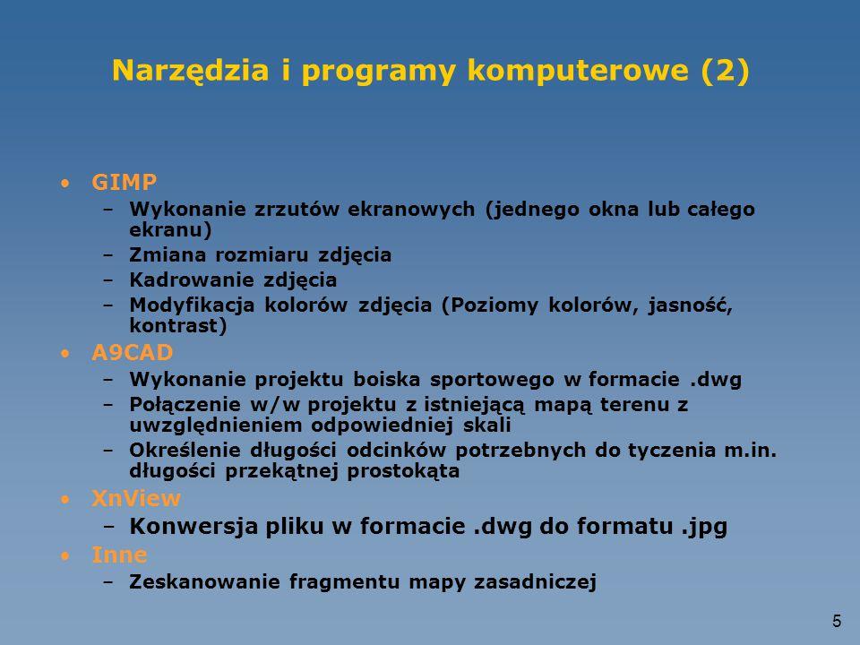 Narzędzia i programy komputerowe (2)