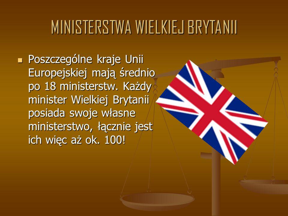 MINISTERSTWA WIELKIEJ BRYTANII