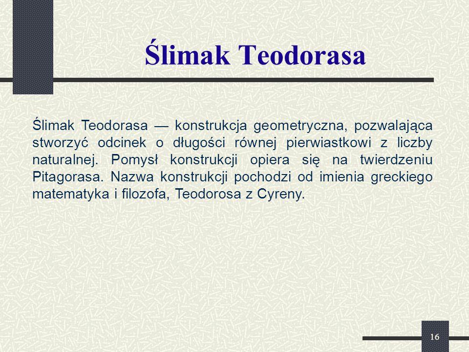 Ślimak Teodorasa