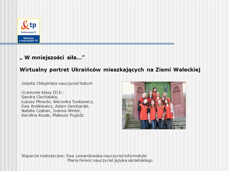 Wirtualny portret Ukraińców mieszkających na Ziemi Wałeckiej