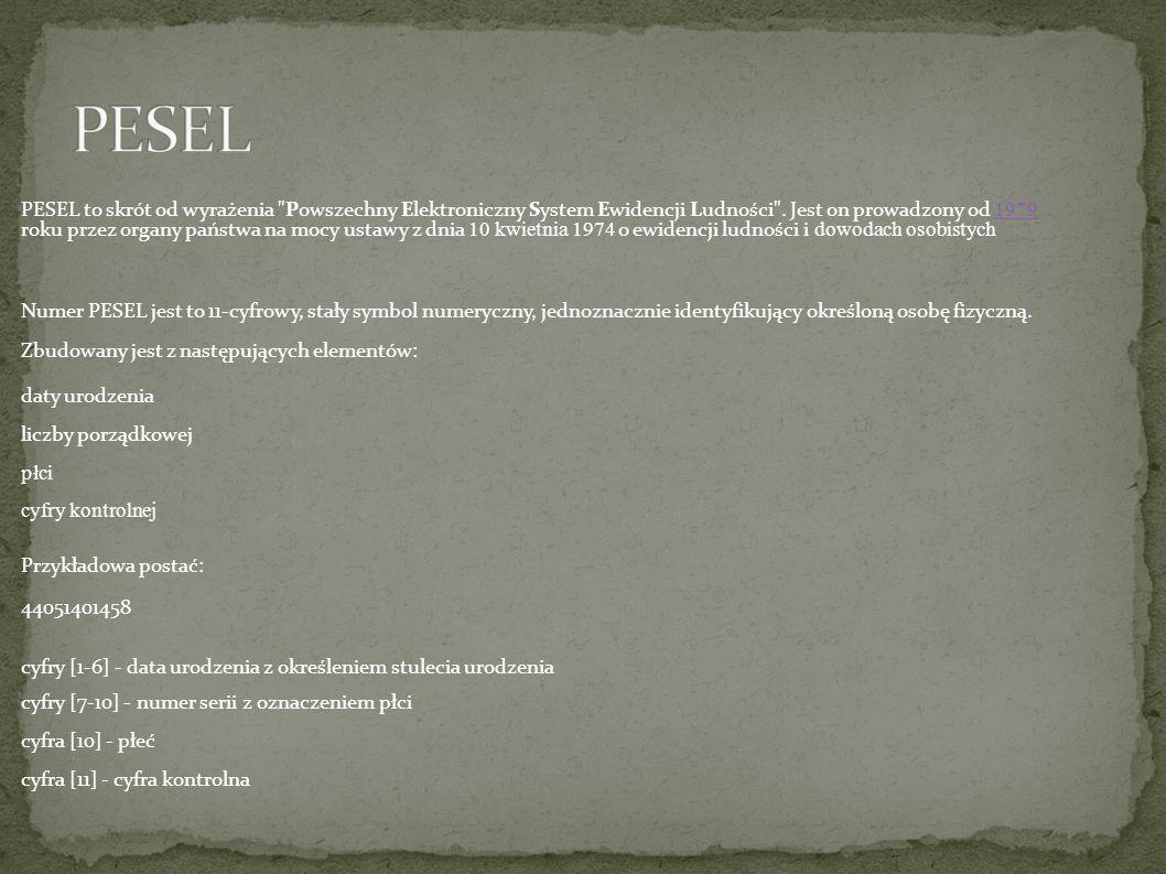 PESEL
