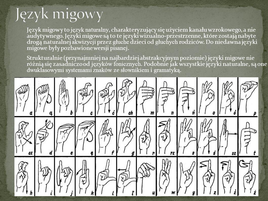 Język migowy