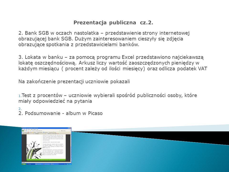 Prezentacja publiczna cz.2.