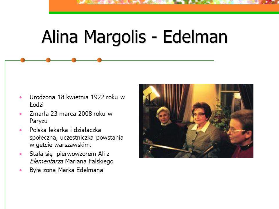 Alina Margolis - Edelman