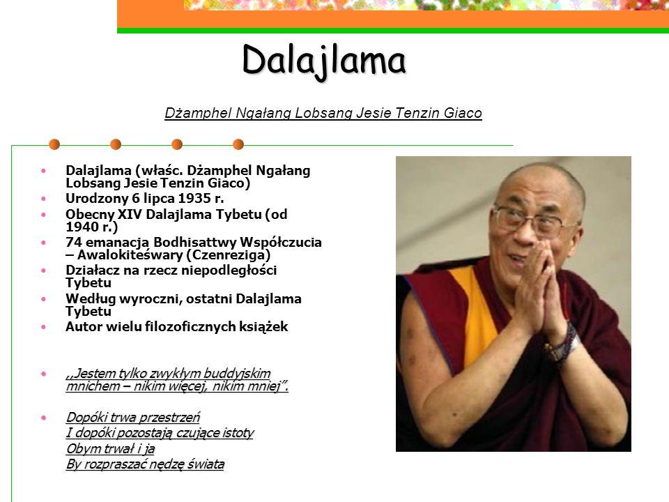 Dalajlama Dżamphel Ngałang Lobsang Jesie Tenzin Giaco