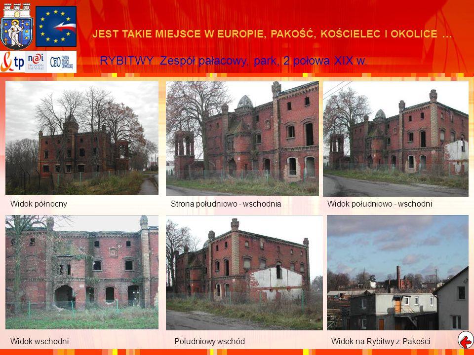 RYBITWY Zespół pałacowy, park, 2 połowa XIX w.