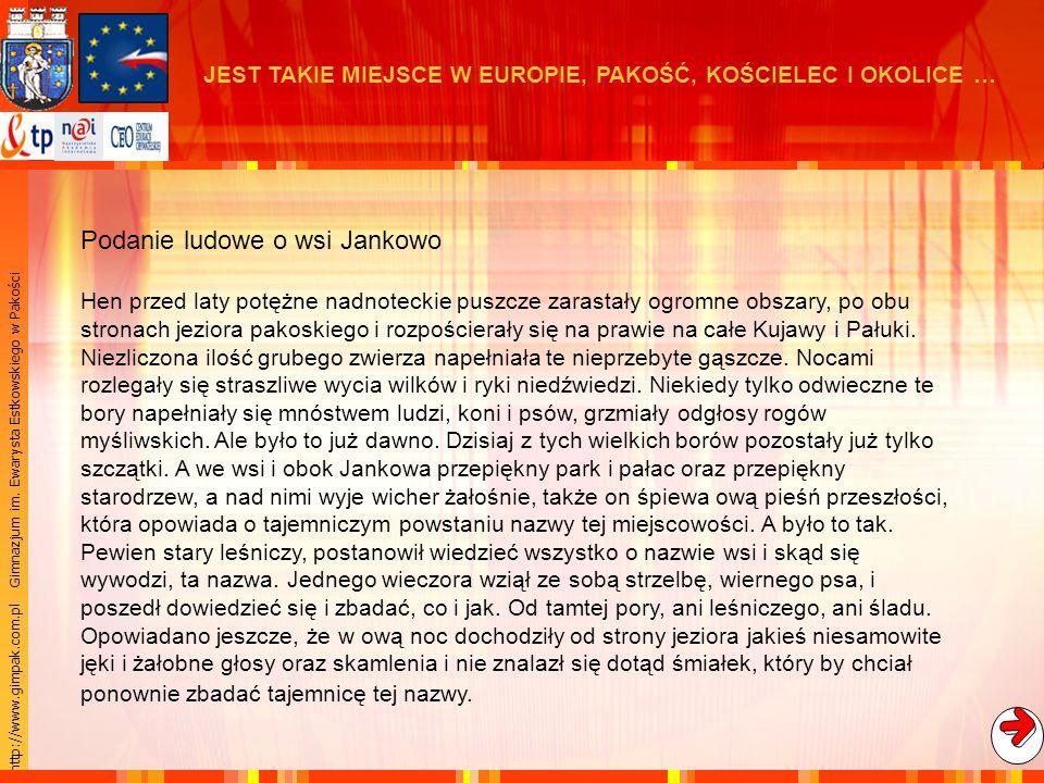 Podanie ludowe o wsi Jankowo