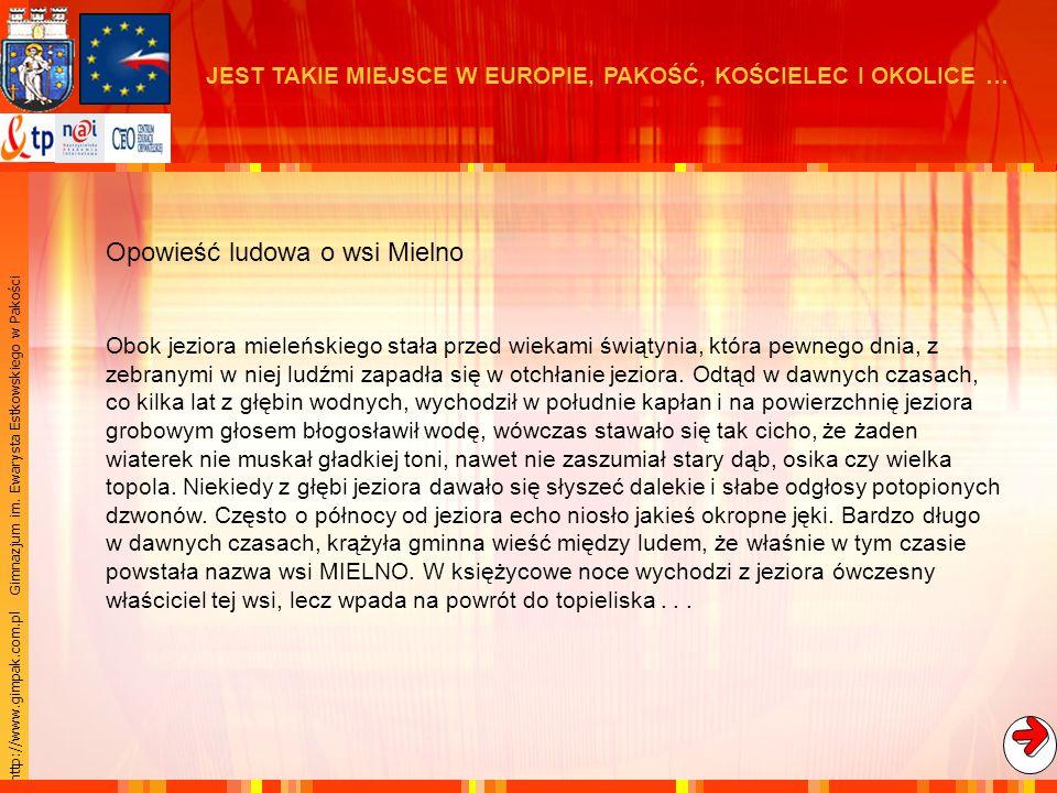 Opowieść ludowa o wsi Mielno