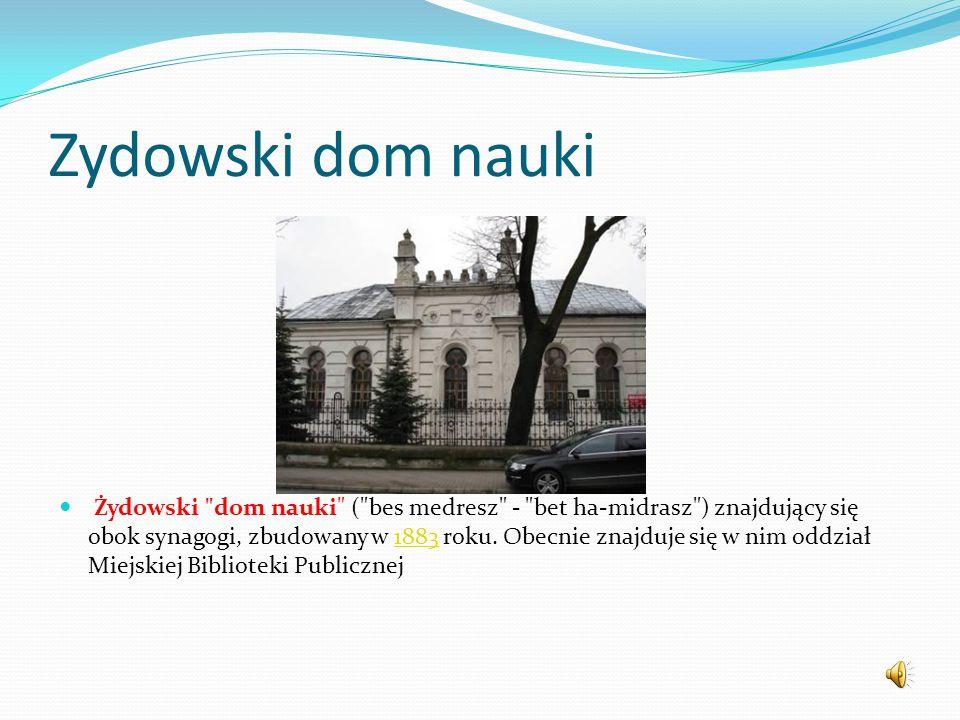 Zydowski dom nauki
