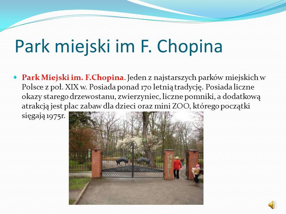 Park miejski im F. Chopina